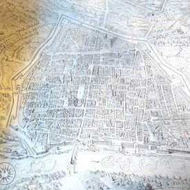 Pavia Historical map
